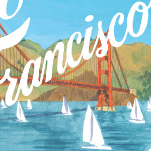 San Francisco illustration by Chandler O'Leary