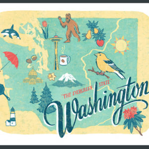 Washington illustration by Chandler O'Leary