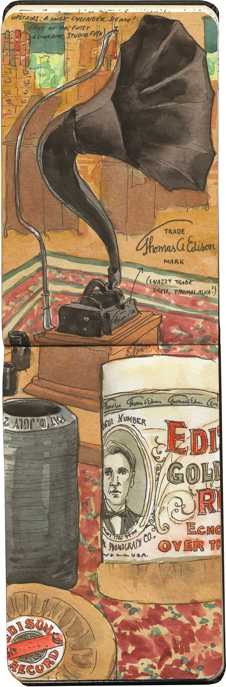 Edison NHP sketch by Chandler O'Leary