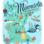 Minnesota illustration by Chandler O'Leary
