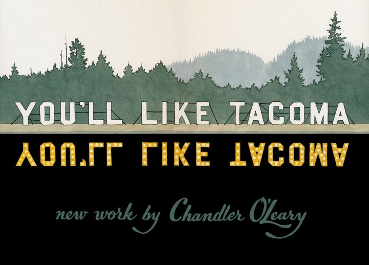 You'll Like Tacoma illustration by Chandler O'Leary
