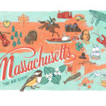 Massachusetts illustration by Chandler O'Leary