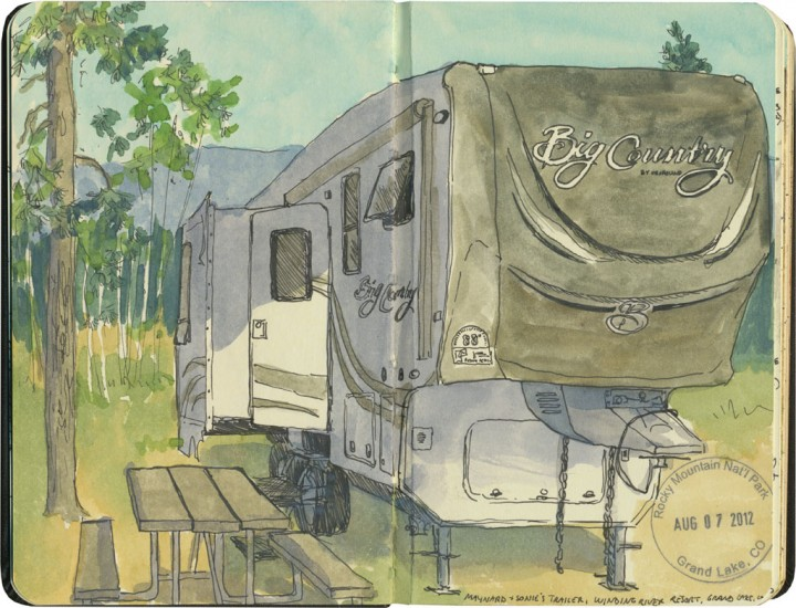 RV sketch by Chandler O'Leary