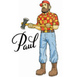 Paul Bunyan temporary tattoo by Chandler O'Leary