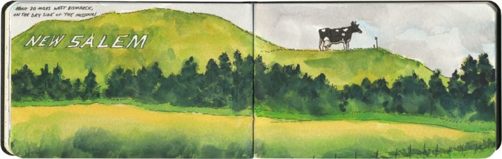 World's Largest Holstein Cow sketch by Chandler O'Leary