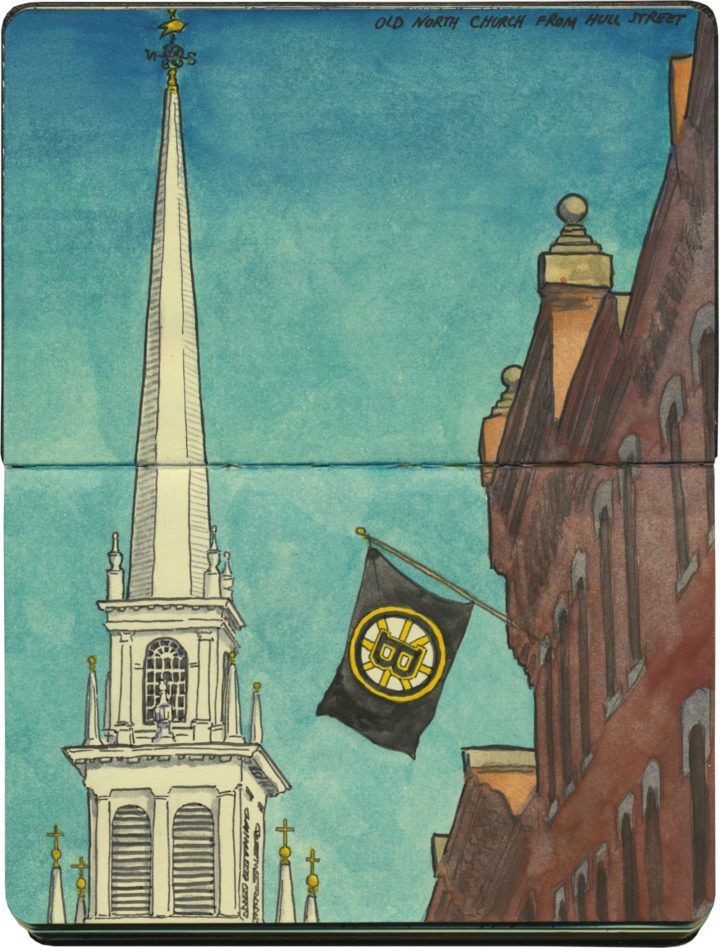 St Raphaels Summer Solstice Steeple >> Churches Drawn The Road Again