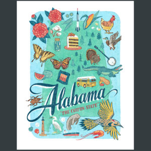 Alabama illustration by Chandler O'Leary
