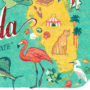 Detail of Florida illustration by Chandler O'Leary