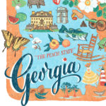 Detail of Georgia illustration by Chandler O'Leary