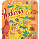 Detail of Indiana illustration by Chandler O'Leary