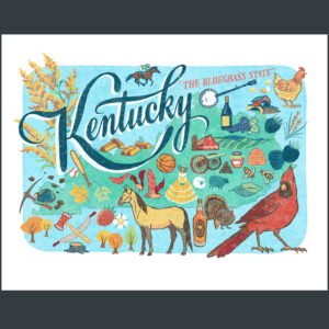 Kentucky illustration by Chandler O'Leary