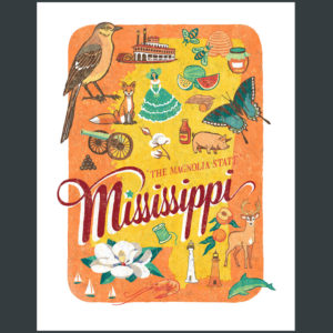 Mississippi illustration by Chandler O'Leary