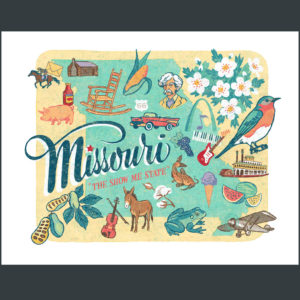 Missouri illustration by Chandler O'Leary