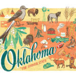 Detail of Oklahoma illustration by Chandler O'Leary