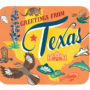 Texas card from the 50 States series illustrated and hand-lettered by Chandler O'Leary