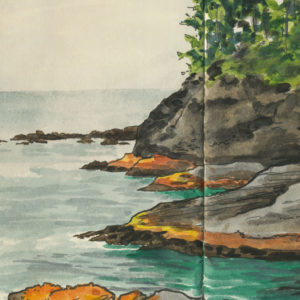Cape Flattery sketchbook print by Chandler O'Leary