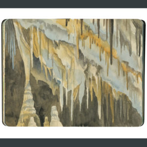 Carlsbad Caverns sketchbook print by Chandler O'Leary