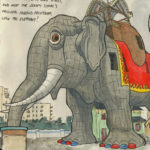 Lucy the Elephant sketchbook print by Chandler O'Leary