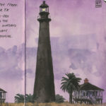 Point Bolivar Lighthouse sketchbook print by Chandler O'Leary