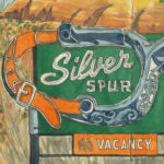 Silver Spur sketchbook print by Chandler O'Leary