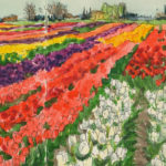 Skagit Valley Tulips sketchbook print by Chandler O'Leary