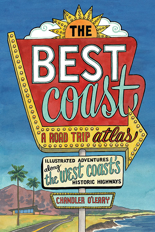 """The Best Coast"" book by Chandler O'Leary"